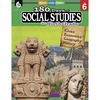 Shell Education 180 Days Social Studies Workbook Printed Book - Book - Grade 6
