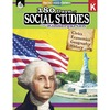 Shell Education 180 Days Social Studies Workbook Printed Book - Book - Grade K