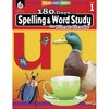 Shell Education 180 Days Spelling/Study Workbook Printed Book - Book - Grade 1