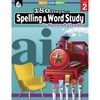 Shell Education 180 Days Spelling/Study Workbook Printed Book - Book - Grade 2