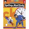 Shell Education 180 Days Spelling/Study Workbook Printed Book - Book - Grade 3