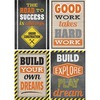 """Teacher Created Resources Under Construction Poster Set - 13.4"""" Width x 19"""" Height - Multicolor"""