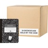 """Roaring Spring Grade School Ruled Marble Hard Cover Composition Book, 1 Case (24 Total), 9.75"""" x 7.5"""" 100 Sheets, Black (Picture Story) - 100 Sheets -"""
