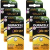 Duracell 03/357 Silver Oxide Button Battery - For Medical Equipment, Watch, Toy, Calculator - Silver Oxide - 6 / Box