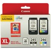Canon PG-245 / CL-246 Original Ink Cartridge - Combo Pack - Multicolor - Inkjet - Extra Large Yield - 1 Each