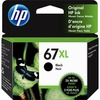 HP 67XL Original Ink Cartridge - Black - Inkjet - High Yield - 240 Pages - 1 Each