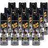 Black Flag Ant & Roach Killer Spray - Spray - Kills Cockroaches, Ants, Silverfish, Crickets - 17.50 fl oz - Yellow - 12 / Carton