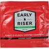 Eight O'Clock Coffee Early Riser Medium Roast Decaf Coffee Soft Pod - Decaffeinated - Arabica, Gourmet Blend - Medium - 200 / Carton