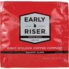 Eight O'Clock Coffee Early Riser Medium Roast Regular Coffee Soft Pod Pod - Regular - Arabica - Medium - 200 / Carton