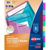 """Avery® Big Tab Tab Divider - 8 x Divider(s) - 8 - 8 Tab(s)/Set - 9.3"""" Divider Width x 11.13"""" Divider Length - 3 Hole Punched - Multicolor Plastic"""