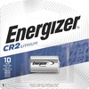 Energizer CR2 Batteries, 1 Pack - For Multipurpose - 3 V DC - Lithium (Li) - 1 / Pack