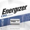 Energizer CR2 Batteries, 1 Pack - For Multipurpose - 3 V DC - Lithium (Li) - 1 / Pack