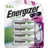 Energizer Recharge Power Plus Rechargeable AA Batteries, 4 Pack - For Multipurpose - Battery Rechargeable - AA - 1.2 V DC - 2300 mAh - Nickel Metal Hy