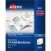 """Avery® Inkjet Brochure/Flyer Paper - Letter - 8 1/2"""" x 11"""" - Matte - 100 / Box - White"""