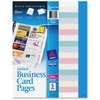 Avery® Business Card Pages - 100 Card Capacity - Clear