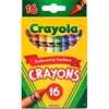 "Crayola Regular Size Crayon Sets - 3.6"" Length - Assorted - 16 / Box"