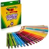 Crayola Presharpened Colored Pencils - 3.3 mm Lead Diameter - Assorted Lead - Wood Barrel - 50 / Set