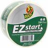"Duck Brand Brand EZ START Packaging Tape - 60 yd Length x 1.88"" Width - 3"" Core - 2.60 mil - 1 Roll - Clear"