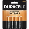 Duracell Coppertop Alkaline AA Battery - MN1500 - For Multipurpose - AA - 1.5 V DC - Alkaline - 4 / Pack