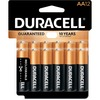 Duracell Coppertop Alkaline AA Battery - MN1500 - For Multipurpose - AA - 1.5 V DC - Alkaline - 12 / Pack