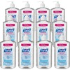 PURELL® Sanitizing Gel - 20 fl oz (591.5 mL) - Pump Bottle Dispenser - Hand - Clear - 12 / Carton