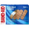 "Band-Aid Flexible Fabric Adhesive Bandages - 1"" - 100/Box - Beige"