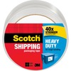 "Scotch Heavy-Duty Shipping/Packaging Tape - 54.60 yd Length x 1.88"" Width - 3.1 mil Thickness - 3"" Core - Synthetic Rubber Resin - 3.10 mil - Rubber R"