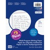 "Pacon Multi-Program Handwriting Papers - 500 Sheets - 0.50"" Ruled - Unruled - 8"" x 10 1/2"" - White Paper - Grade, Hard Cover - 500 / Ream"