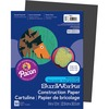 "SunWorks Construction Paper - Multipurpose - 9"" x 12"" - 50 / Pack - Black"