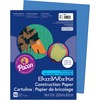 "SunWorks Construction Paper - Multipurpose - 0.50"" x 9""12"" - 50 / Pack - Blue"