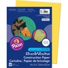 "SunWorks Construction Paper - Multipurpose - 9"" x 12"" - 50 / Pack - Yellow"