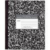 Roaring Spring Tape Bound Composition Notebooks - 48 Sheets - 96 Pages - Printed - Sewn/Tapebound - Both Side Ruling Surface Red Margin - 15 lb Basis