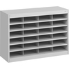 """Safco E-Z Stor Steel Literature Organizers - 750 x Sheet - 24 Compartment(s) - Compartment Size 3"""" x 9"""" x 12.25"""" - 25.8"""" Height x 37.5"""" Width x 12.8"""""""