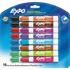 EXPO Low-Odor Dry-erase Markers - Bold Marker Point - Chisel Marker Point Style - Assorted - 16 / Set