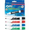 Sanford Ink Dry-erase Marker, Bullet Point, 4/ST, BK/RD/BE/GN