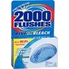 WD-40 2000 Flushes Blue/Bleach Bowl Cleaner Tablets - Tablet - 3.50 oz (0.22 lb) - 1 Each