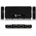 Ultra Slim 4 Port Hi-Speed USB 2.0 HUB with AC Adaptor
