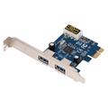2PORT USB 3.0 PCIE CARD     SUPERSPEED