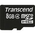 TRANSCEND 8GB micro SDHC Card Class 4