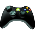 XBOX360 WRLS COMMONCNTRLR WIN  USB PORT EN/FR/ES AMER HDWR BLACK