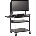 WIDE BODY LCD CART SHELF MONITORS TO 75LBS NO/ELEC