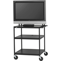WIDE BODY LCD TV CART MONITORS TO 75LBS NO/ELEC