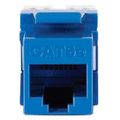 RJ45 MODULE JACK BLUE FOR CAT5EADAPKEYWERKS BACK TERMINATION