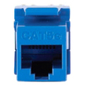 RJ45 MODULE JACK BLACK FOR ADAPCAT5E KEYWERKS BACK TERMINATION