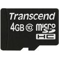 TRANSCEND 4GB MICRO SDHC10 (NO BOX & ADAPTER)