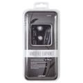 Link Depot Multimedia LD-HDS-BLK Stereo Handsfree Earphones for iPhones Black Retail