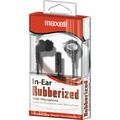 Stereo Cellular Phone In-Ear Earbuds w/Remote, Black