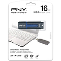 16GB ATTACHE FLASH DRIVE USB  2.0 GE PKG