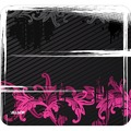MOUSE PAD FLORAL URBAN PINK