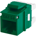 CAT5E RJ45 KEYWERKS MODULE BACK TERMINATION GREEN